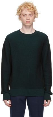 Kenzo Blue Two-Tone Sweater