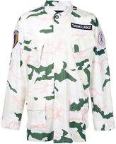 Sankuanz camouflage jacket