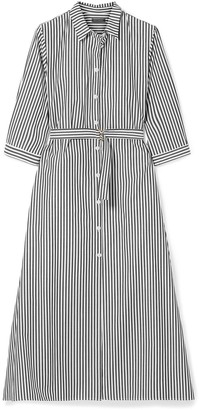 MDS Stripes 3/4 length dresses