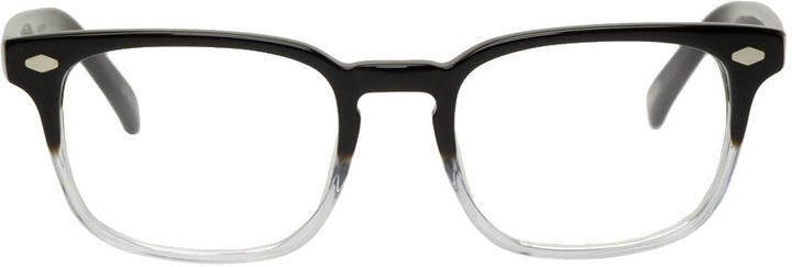 Raen Transparent and Black Doheny Glasses