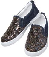 Crazy 8 Glitter Slip-On Sneakers