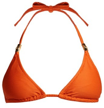 Heidi Klein Casablanca Bikini Top - Womens - Orange