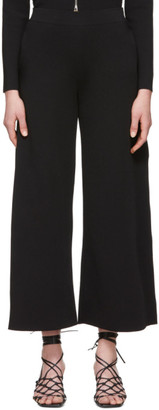 Stella McCartney Black Compact Knit Trousers