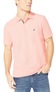 Nautica Men's Classic-Fit Pique Deck Solid Polo Shirt