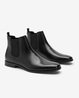 Express Leather Chelsea Boots