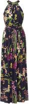 Karen Millen Orchid-print Jumpsuit - Purple/multi
