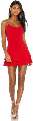 Alice + Olivia Palmira Ruffle Tank Dress
