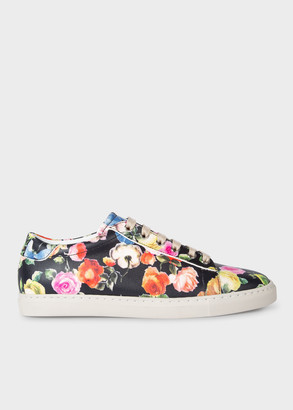 Women's 'Archive Rose' Print Leather 'Hassler' Trainers