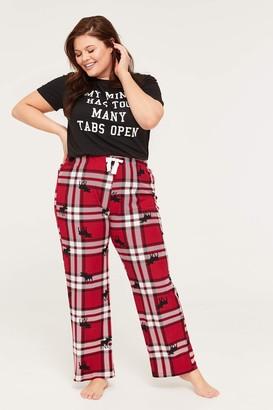 Ardene Plus Size Eco-conscious PJ Pants