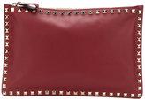 Valentino Garavani Valentino Rockstud clutch - women - Leather/metal - One Size