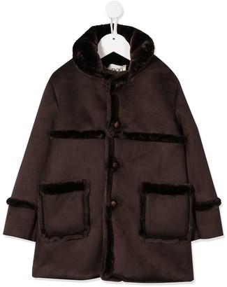 Douuod Kids Albicocca duffle coat