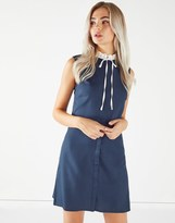 Fashion Union Sleeveless Shirt Dress