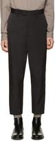 Robert Geller Black Sean Trousers