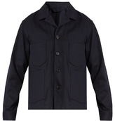 Acne Studios Media patch-pocket cotton-drill field jacket