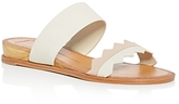 Dolce Vita Pacer Lizard-Embossed Demi Wedge Slide Sandals