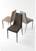 Calligaris Aida Upholstered Dining Chair Upholstery Color: Desert Vintage, Frame Color: Matt Black