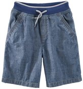 Osh Kosh Boys 4-12 Pull-On Denim Shorts