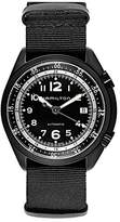 Hamilton Men's 'Khaki Aviation' Swiss Automatic Metal and Canvas Dress Watch, Color:Black (Model: H80485835)