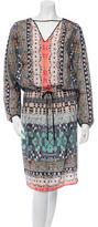 Clover Canyon Digital Print Midi Dress w/ Tags