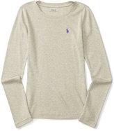 Ralph Lauren Long-Sleeve Shirt, Toddler & Little Girls (2T-6X)