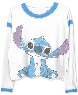 Freeze 24-7 Trendy Plus Size Stitch-Print Ringer T-Shirt