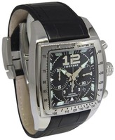 Chopard Two O Ten Tycoon 16/8961 Chronograph Stainless Steel & Leather Automatic 47mm Mens Watch