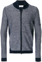 Stone Island zipped knitted cardigan