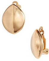Simon Sebbag Women's Leaf Mini Clip Earrings