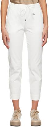 MAX MARA LEISURE Off-White Austero Lounge Pants