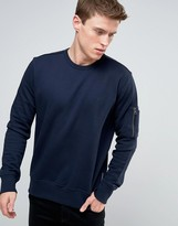 French Connection Crew Neck Sweat with Pocket