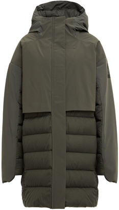 adidas Quilted Shell Down Hooded Coat