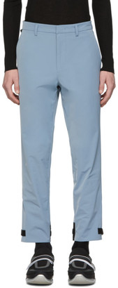 Prada Blue Techno Trousers
