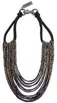 Max Mara Multi Strand Beaded Necklace