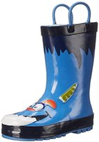 Western Chief Blue Monster Rain Boot (Toddler/Little Kid/Big Kid)