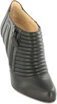 Pleated Bootie