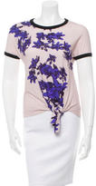 Cacharel Floral Print T-Shirt