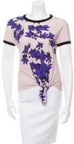Cacharel Floral Print T-Shirt