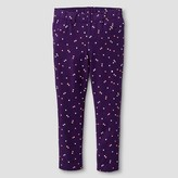 Toddler Girls' Spotted Jeggings Purple - Cat and Jack