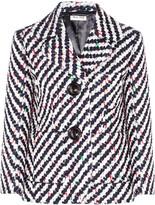 Miu Miu Wool and cotton-blend bouclé jacket