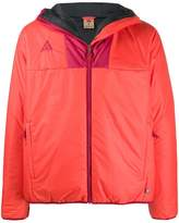 Nike colour block hooded jacket