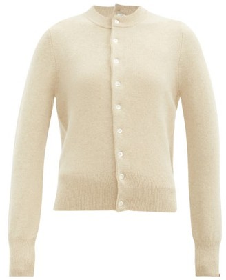 Extreme Cashmere Little Game Stretch-cashmere Cardigan - Cream