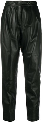 LOULOU STUDIO High Waisted Leather Trousers