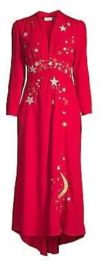 Rixo Women's Margo A-Line Midi Dress