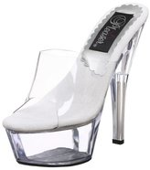Pleaser USA Women's Kiss-201LT Sandal