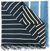 Pierre Louis Mascia Pierre-Louis Mascia - striped scarf - women - Silk - One Size