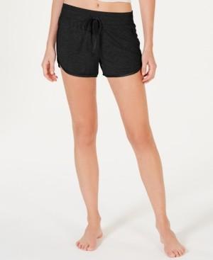 Alfani Ultra Soft Satin-Trim Pajama Shorts, Created for Macy's