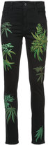Creatures of the Wind pinam embroidery skinny jeans - women - Cotton/Polyester/Rayon - 2
