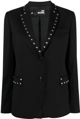Love Moschino Studded Blazer Jacket