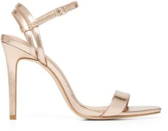 Forever New Emma Strappy Stiletto Heels - Rose Gold - 36
