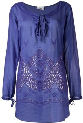 AMIR SLAMA Panelled Beach Dress
